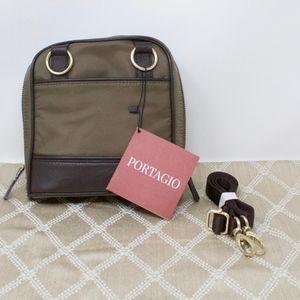 Portagio Convertible Crossbody Shoulder Bag Green